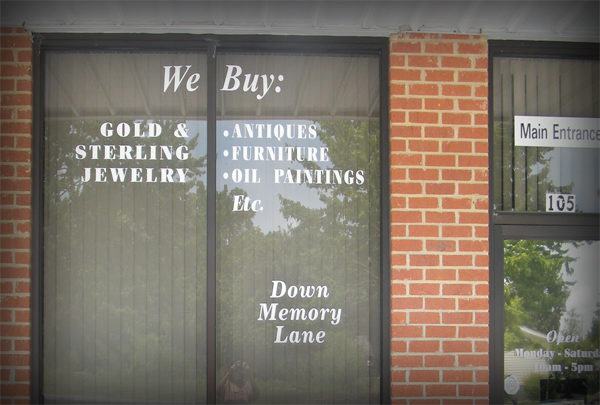 Down Memory Lane Collectibles & Antiques of Southern Pines